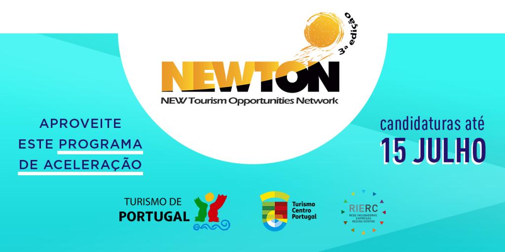 Newton 3ª Edição - Candidaturas abertas até 15 Julho