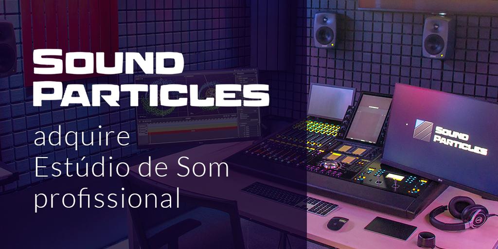 Sound Particles - Estúdio de Som profissional