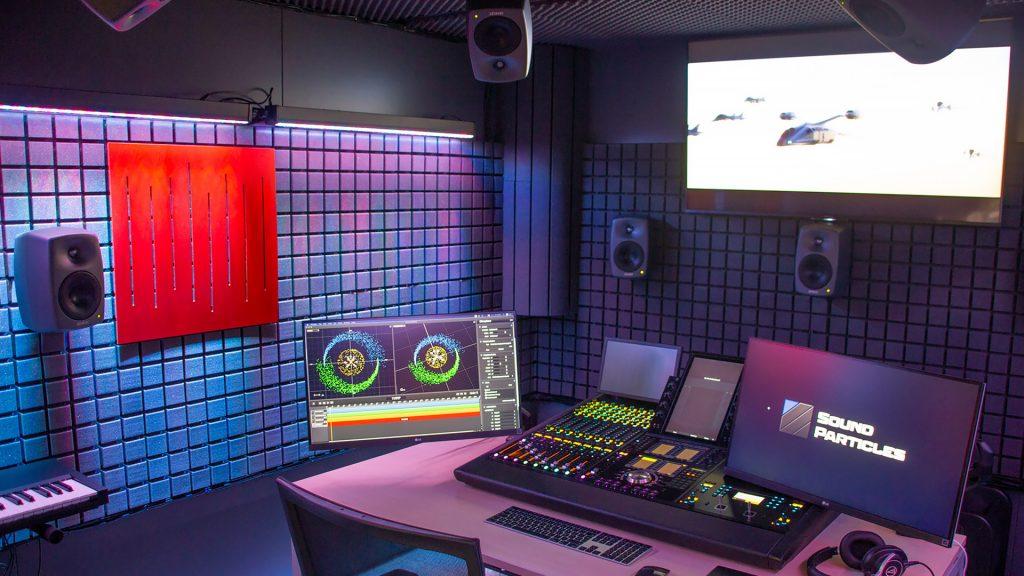 Sound Particles - Estúdio de Som profissional - Imagem 1c