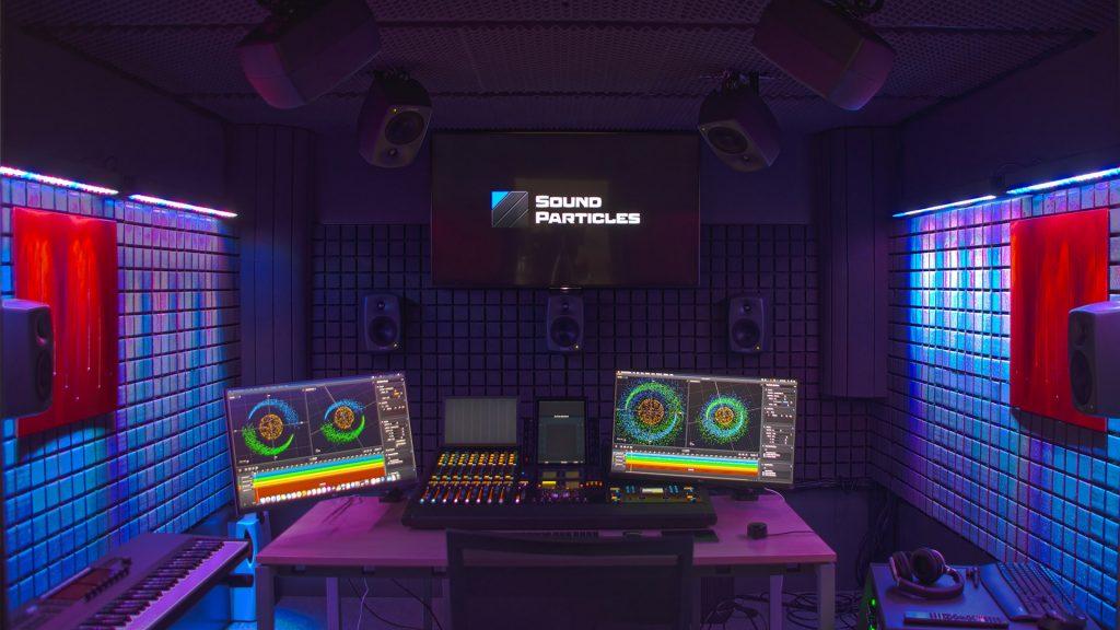 Sound Particles - Estúdio de Som profissional - Imagem 2c