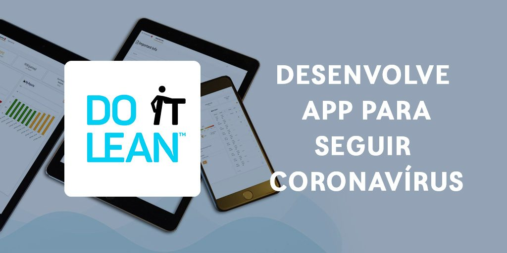 Do It Lean lança nova App para seguir Coronavírus