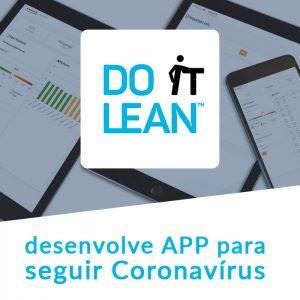 Do It Lean lança nova App para seguir Coronavírus Share