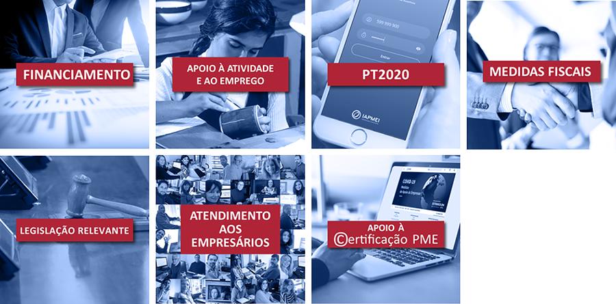 Guia completo de Medidas de Apoio aos Empresários - COVIC-19 - IAPMEI Categorias