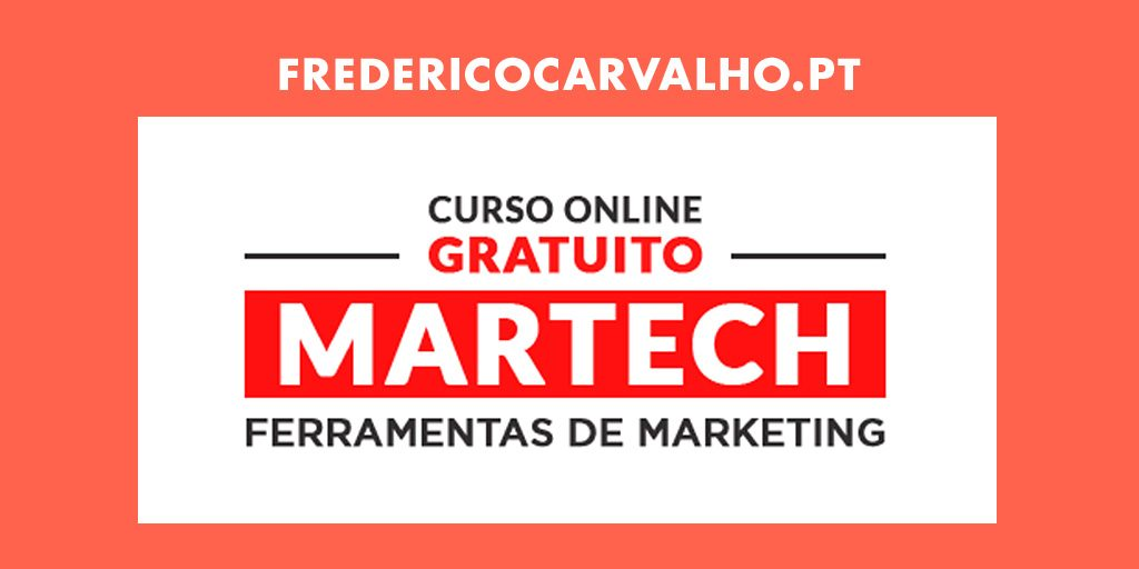 Curso Online Gratuito: MarTech Ferramentas de Marketing