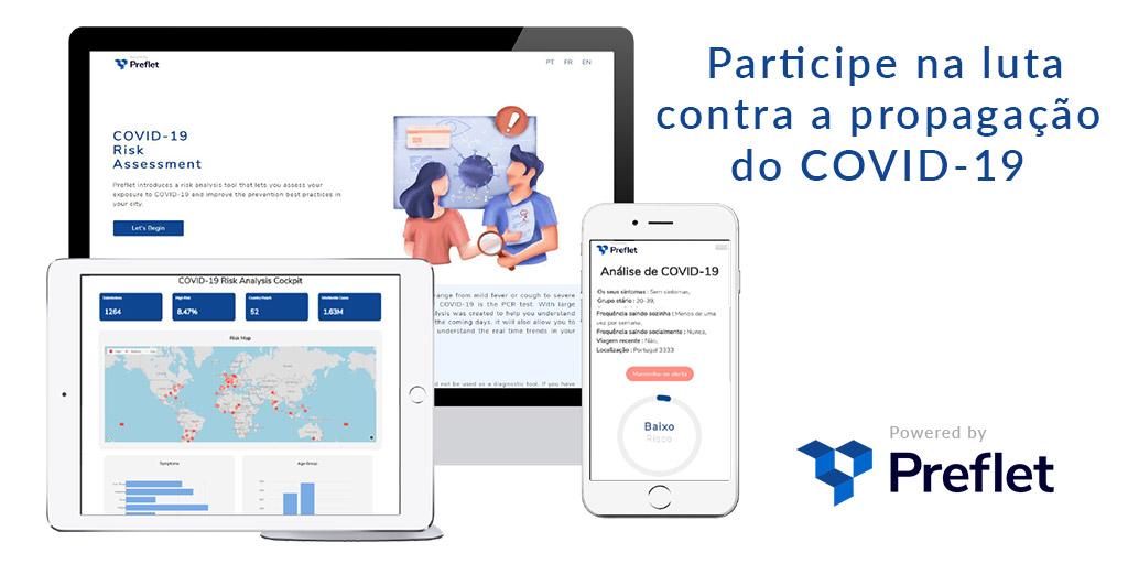 Avaliação de risco COVID-19 - Participe já