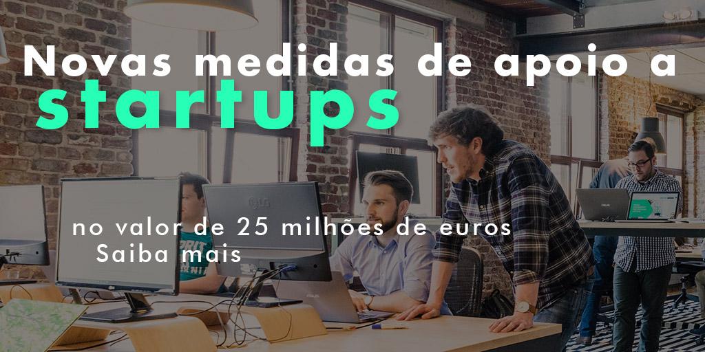 Novas medidas de apoio a startups no valor de 25 milhões de euros COVID-19