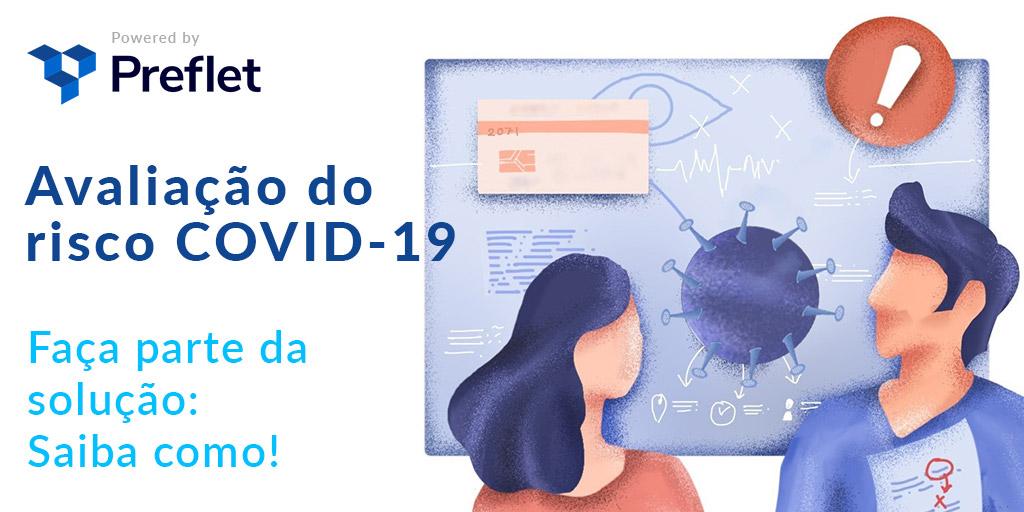 Avaliação de risco COVID-19