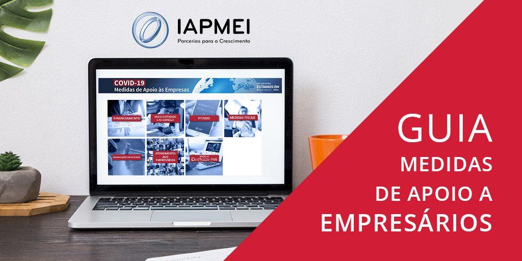 Guia completo de Medidas de Apoio aos Empresários - COVIC-19 - IAPMEI