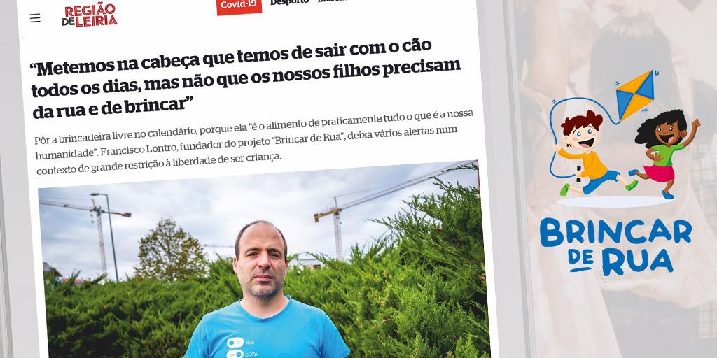 Brincar de Rua - Entrevista Cover