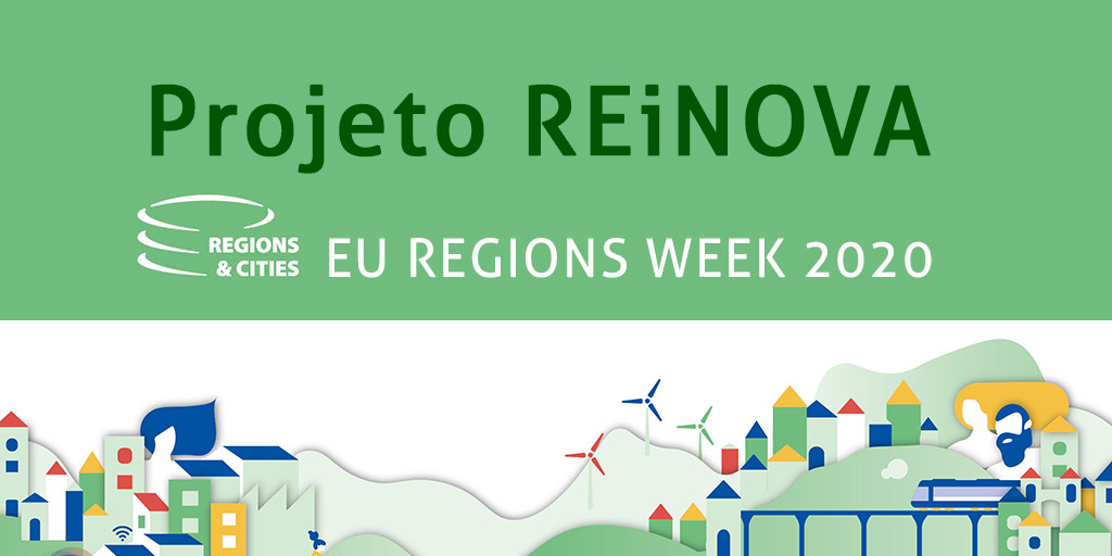 IDDNET apresenta REiNOVA no EU Regions Week 2020 Cover