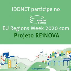 IDDNET apresenta REiNOVA no EU Regions Week 2020 Share