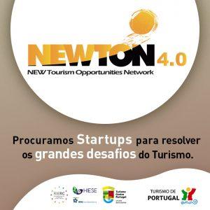 NEWTON 4.0 - Procuramos Startups para resolver os grandes Desafios do Turismo Share