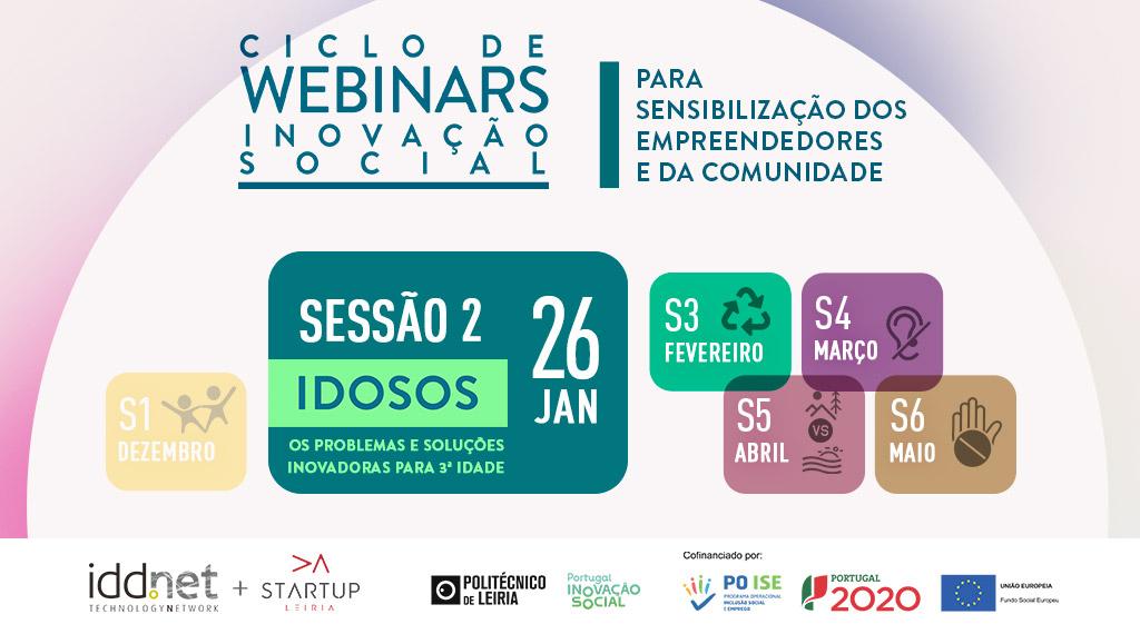 IDDNET Ciclo de Webinars - 2ª Sessão 26 Janeiro