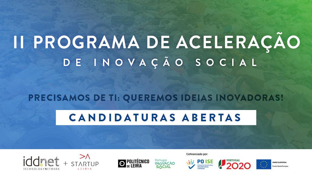 II Programa de Aceleração Inovação Social